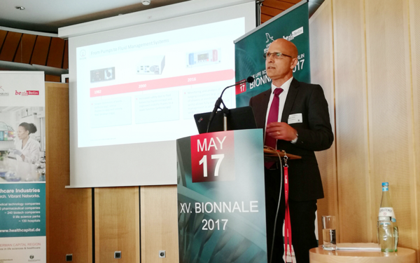 Stefan Kürbis, SVP HR & Innovation Management auf der Bionnale