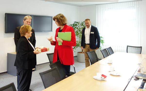 Ilse Aigner visits WOM Ludwigsstadt