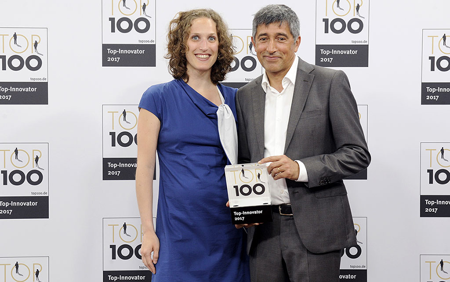 Innovative leader WOM receives TOP 100 award
