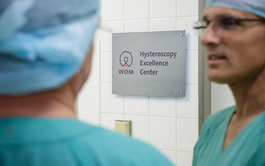 WOM relies on close cooperation in the field of hysteroscopy