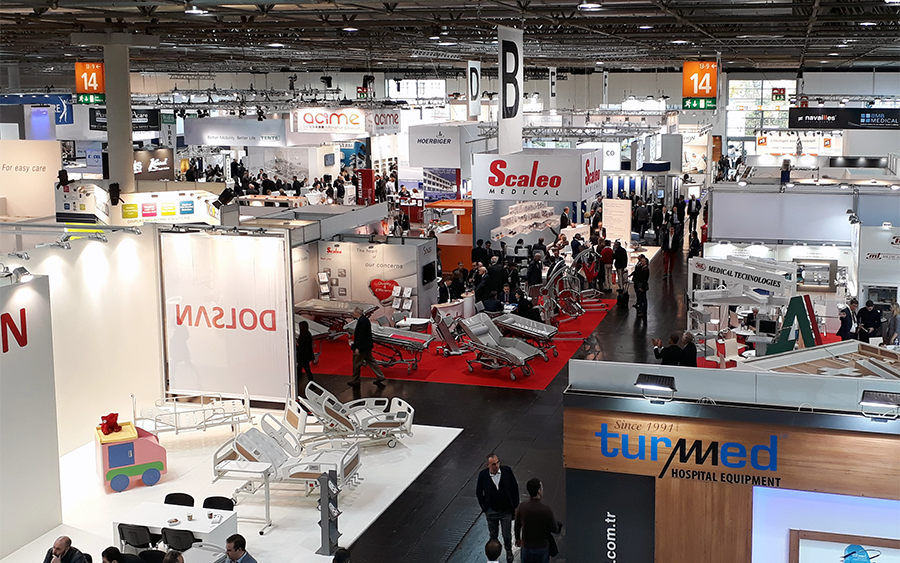 The largest medical trade fair: MEDICA in Düsseldorf, Germany