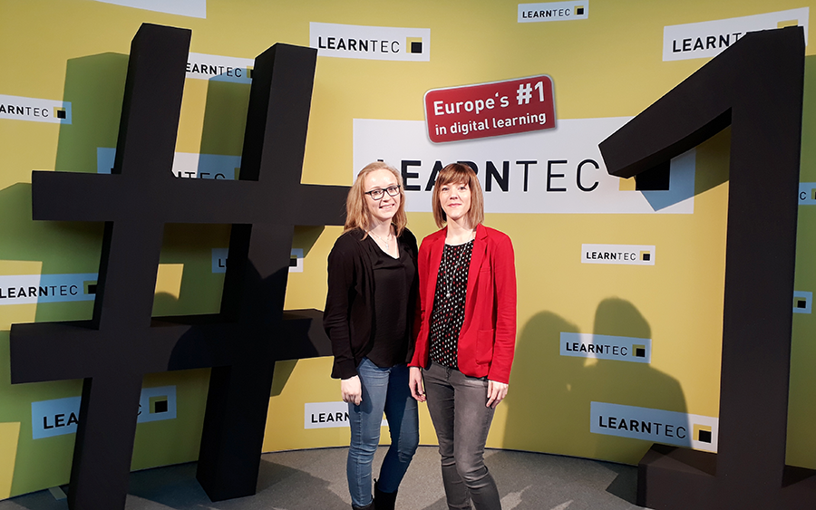 Messebesuch LEARNTEC in Karlsruhe