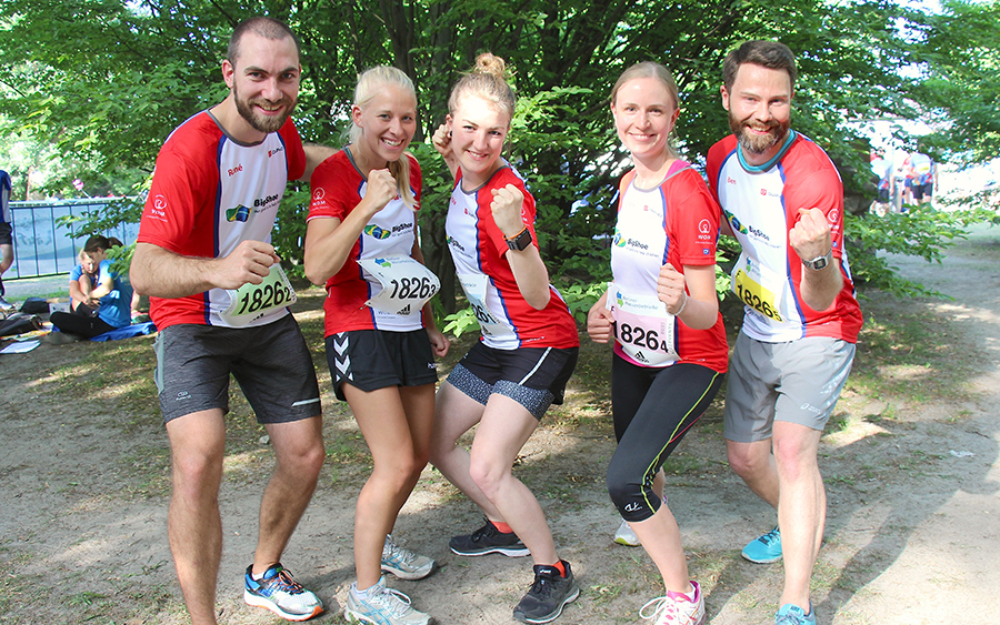Teamstaffellauf 2018: WOM mit fünf Staffeln am Start