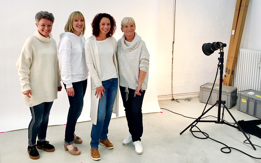 #meinraumjob - our models at the photo session