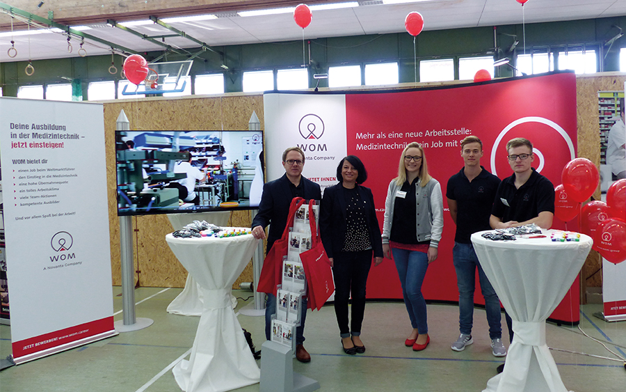 WOM at training fair in Kronach