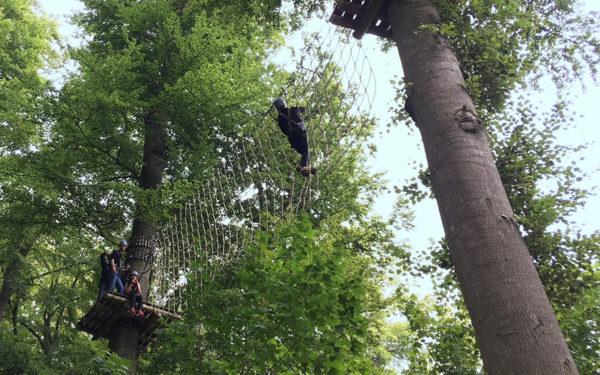 Einsatz im Kletterpark