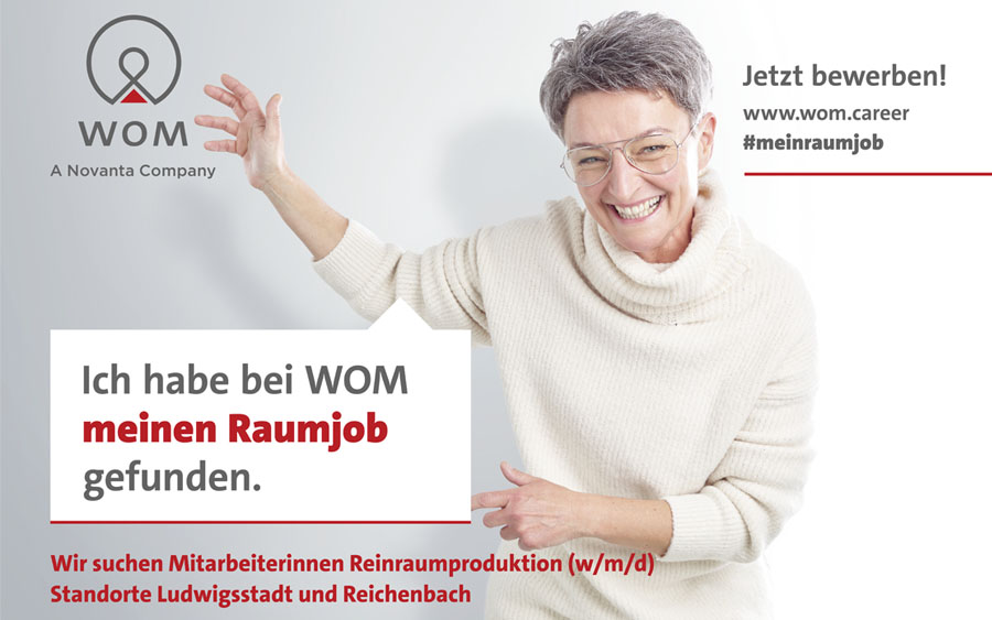 WOM Cleanroom campaign